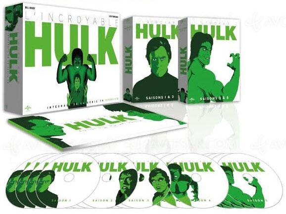 L'incroyable Hulk, l'intégrale de la série restaurée pour la première fois enBlu‑Ray