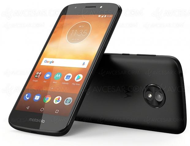 Smartphone Lenovo Moto E5 Play, objectif rapport qualité‑prix