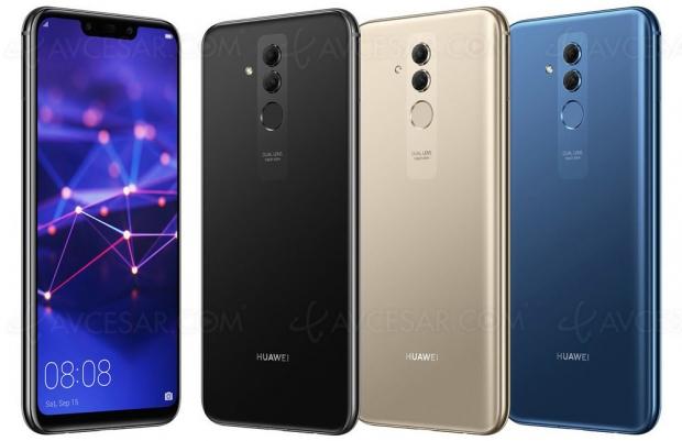 Smartphone Huawei Mate 20Lite enimages(fuite)