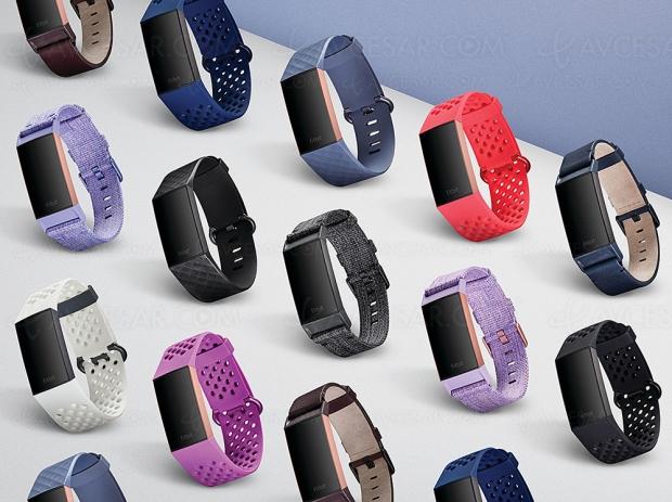 Nouveau bracelet d'activité Fitbit Charge 3