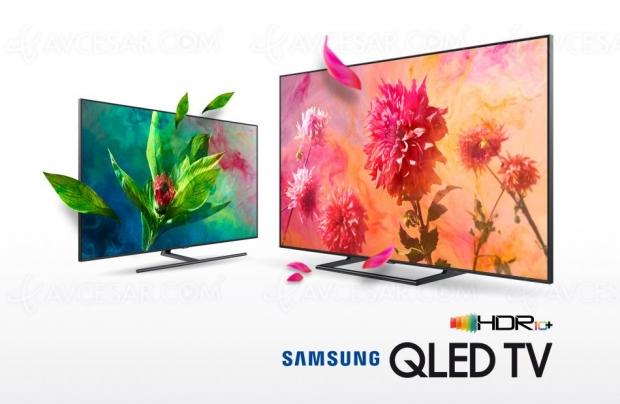 TV Samsung Ultra HD et QLED 2018 certifiés HDR10+