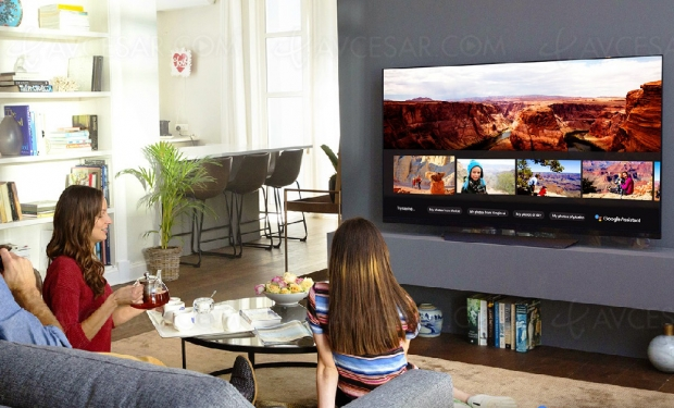 Google Assistant sur TV LG AI ThinQ en France (et ailleurs)