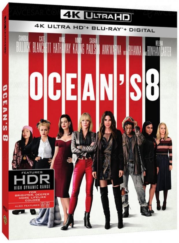 Ocean's 8 : casse de haut vol en 4K Ultra HD Blu‑Ray