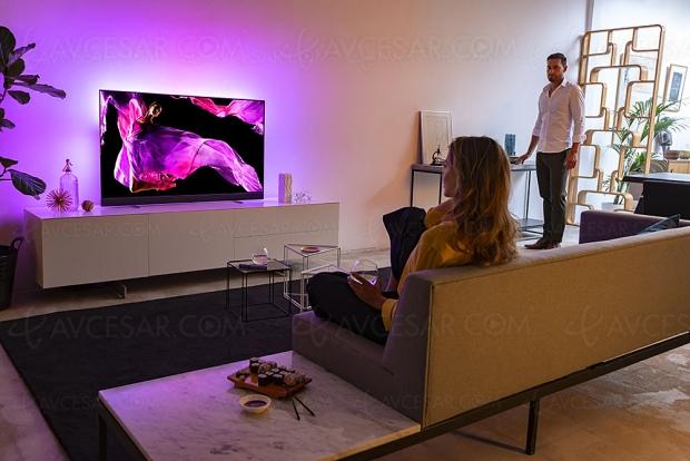 IFA 18 > TV Oled Philips OLED903 Ultra HD Premium, processeur P5 2e génération et section sonore signée Bowers & Wilkins
