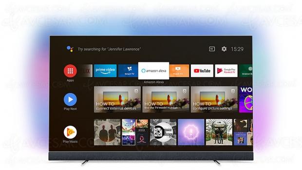 IFA 18 > TV Philips P5 2017/2018 compatible Amazon Alexa