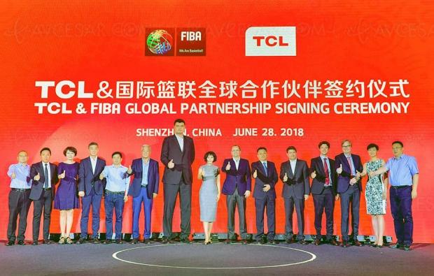 IFA 18 > TCL partenaire de la Fédération Internationale de basket‑ball