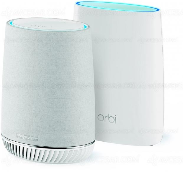 IFA 18 > Netgear Orbi Voice, enceinte connectée + satellite Wi‑Fi Mesh