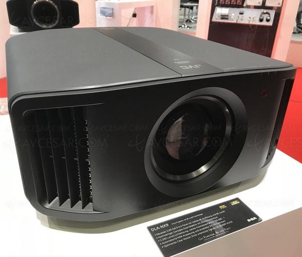 IFA 18 > JVC DLA‑NX9 : nouveau modèle e‑Shift 8K et HDR