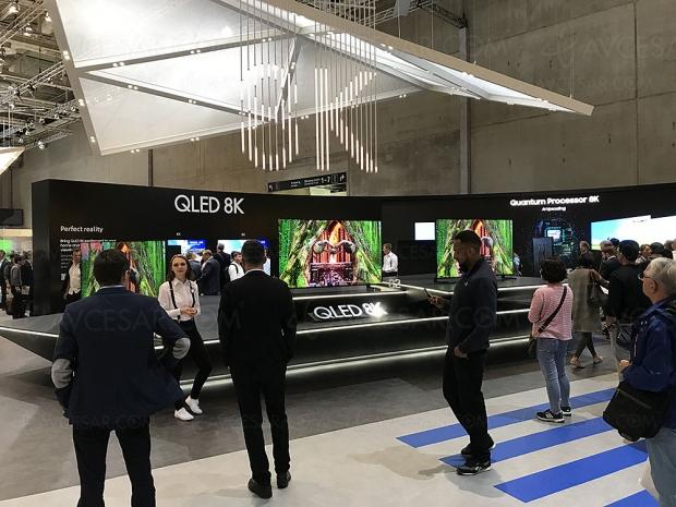 IFA 18 > TV QLED 8K Samsung Q900R, mise à jour spécifications