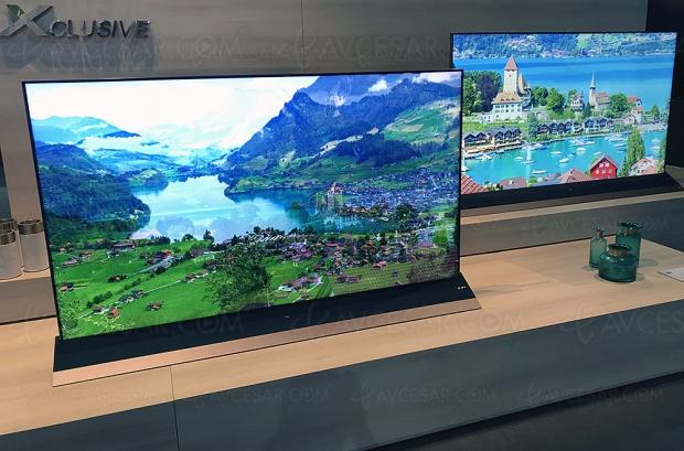 IFA 18 > TV QLED 8K TCL X8, 55'', 65'' et 75'', mise à jour spécifications
