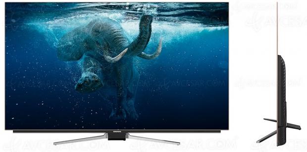 IFA 18 > TV Oled Ultra HD Grundig VLO9895BP, 55'' et 65'' en approche avec Alexa intégré