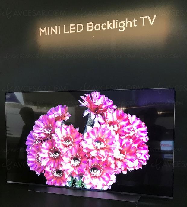 IFA 18 > TCL dévoile un prototype TV mini‑LED 55 pouces