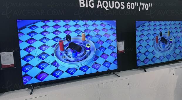 IFA 18 > TV LED Ultra HD Sharp UI7652E, 60'' et 70'' annoncés