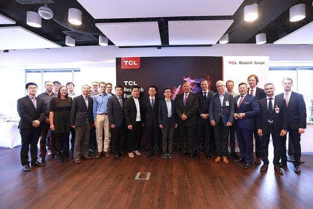 Nouveau centre de R&D en Europe pour TCL