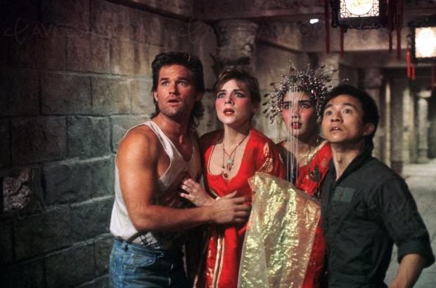 Kurt Russell + John Carpenter = nouveau master pour Jack Burton, le film le plus WTF de 1986