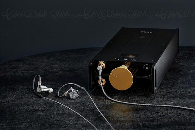 IFA 18 > Nouveautés Sony Signature : écouteurs IER‑Z1R et lecteur audio numérique DMP‑Z1