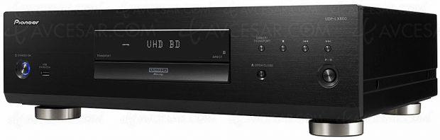 IFA 18 > Pioneer UDP‑LX800, platine Ultra HD Blu‑Ray HDR Dolby Vision et fonction Zero Signal Terminal