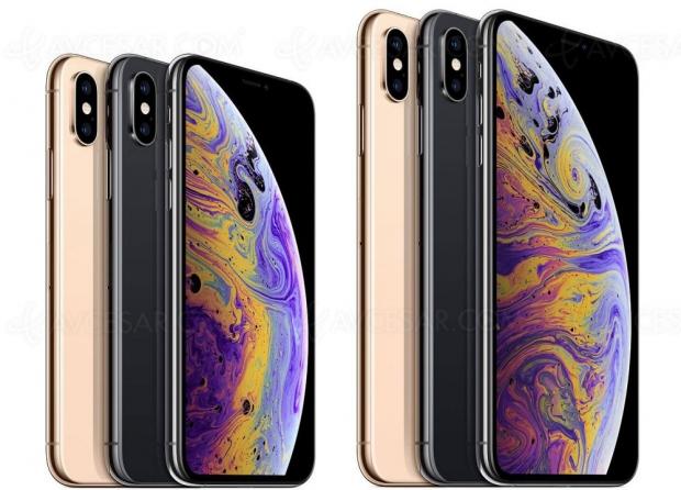 Demande décevante pour l'iPhoneXs, mais bonne pour leXsMax etencourageante pour l'AppleWatch4