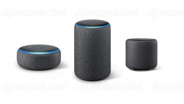 Nouveautés Amazon Alexa : Echo Dot, Echo Plus, Echo Sub, Echo Auto…