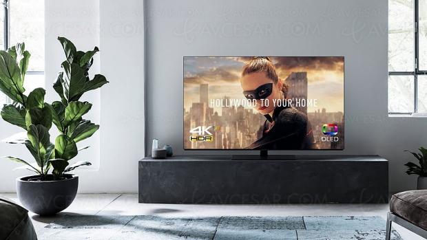 Test TV Oled Ultra HD PanasonicTX‑55FZ800, enligne