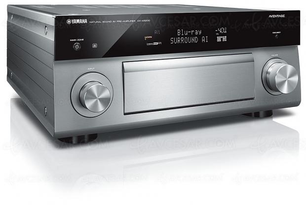 Yamaha CX-A5200, pré-ampli 11.2, Dolby Atmos, DTS:X, MusicCast, 3 sorties HDMI assignables et Surround AI