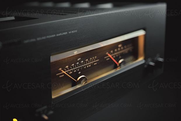 Yamaha M‑5000, nouvel amplificateur stéréo Hi‑Fi