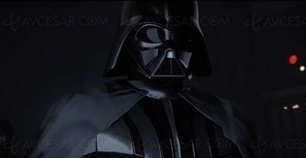 Nouveau casque réalité virtuelle Oculus Quest, lancé avec série Star Wars sur Dark Vador