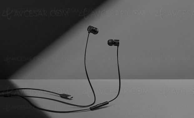 Écouteurs OnePlus Bullets V2 avec connecteur USB‑C