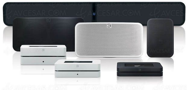 Gamme d'enceintes multiroom Bluesound Gen 2i : AirPlay 2, Wi‑Fi Dual Band, Bluetooth APT ‑ X HD, amplification plus puissante, BluOS 3.0…