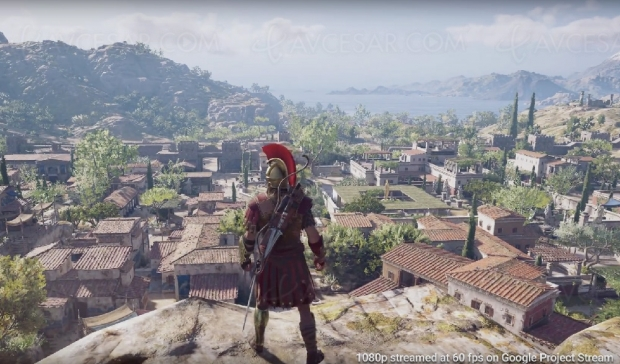 Project Stream, jeu vidéo en streaming par Google avec Assassin's Creed Odyssey