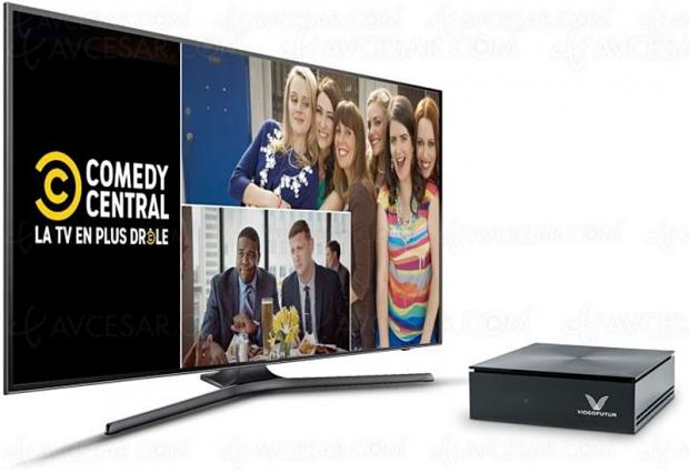 Comedy Central arrive sur la fibre VideoFutur