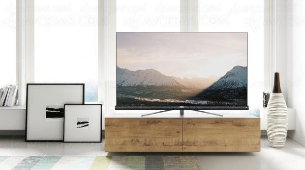 TV LED Ultra HD TCL 55DC760 et TCL 65DC760, mise à jour références