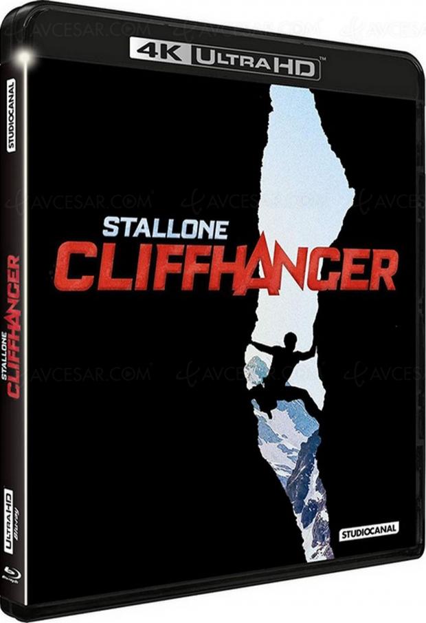 Après Rambo 1, 2 et 3, Sylvester Stallone de nouveau en 4K UHD avec Cliffhanger