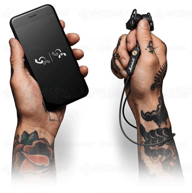 Écouteurs Marshall Minor II Bluetooth 5.0 APT‑X