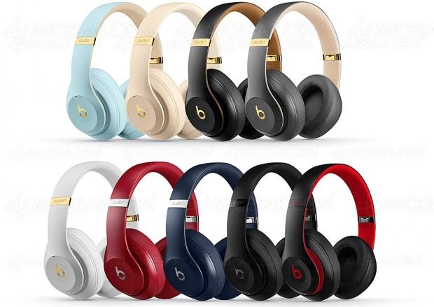 Nouvelles couleurs Skyline pour le casque Beats Studio3 Wireless