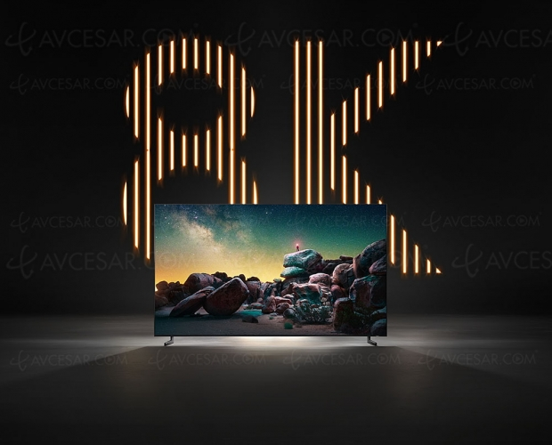 2 millions de téléviseurs8K en2020: la disponibilité de ces écrans sera (très)rapide