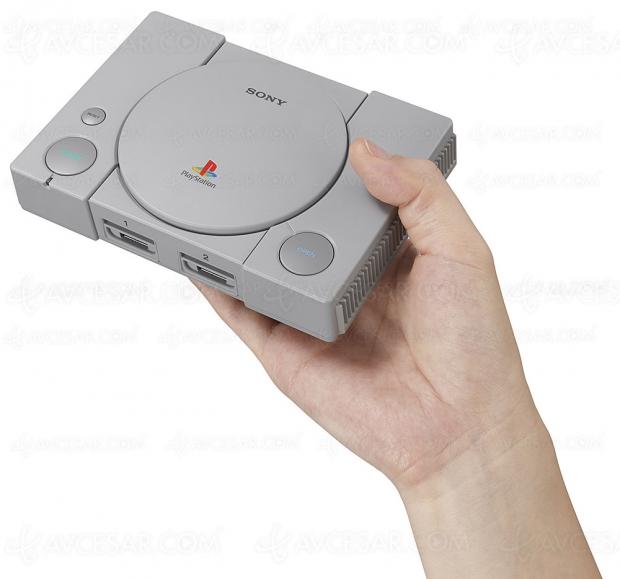 PlayStation Classic le 3 décembre avec 20 jeux dont Metal Gear Solid, Resident Evil, Grand Theft Auto…