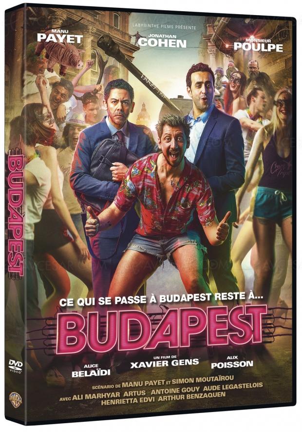 Manu Payet, Jonathan Cohen et Monsieur Poulpe en roue libre à Budapest