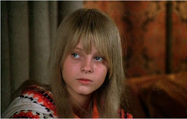 Jodie Foster, ado, dans La petite fille au bout du chemin