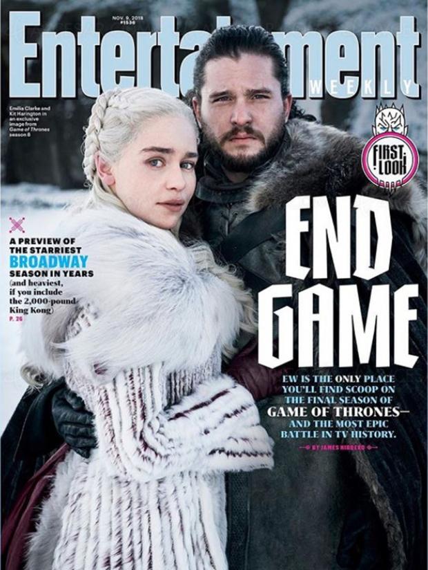 Première image de Game of Thrones saison8: Daenerys Targaryen et Jon Snow àlaUne