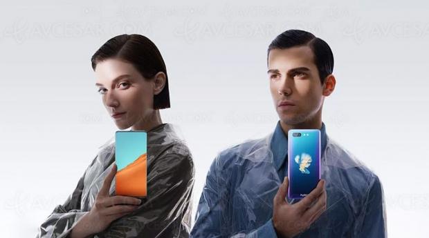 Smartphone NubiaX, unécrandevant, unécranderrière, zéroencoche