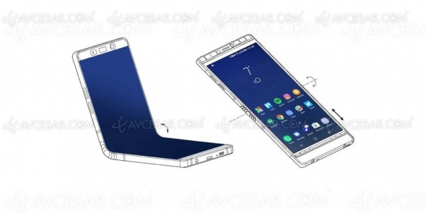 Le smartphone pliable Samsung enfin en production ?