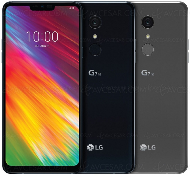 LG G7 Fit, écran 6,1'' FullVision, HDR10, IP68, Google Lens, Quick Charge, DTS:X…