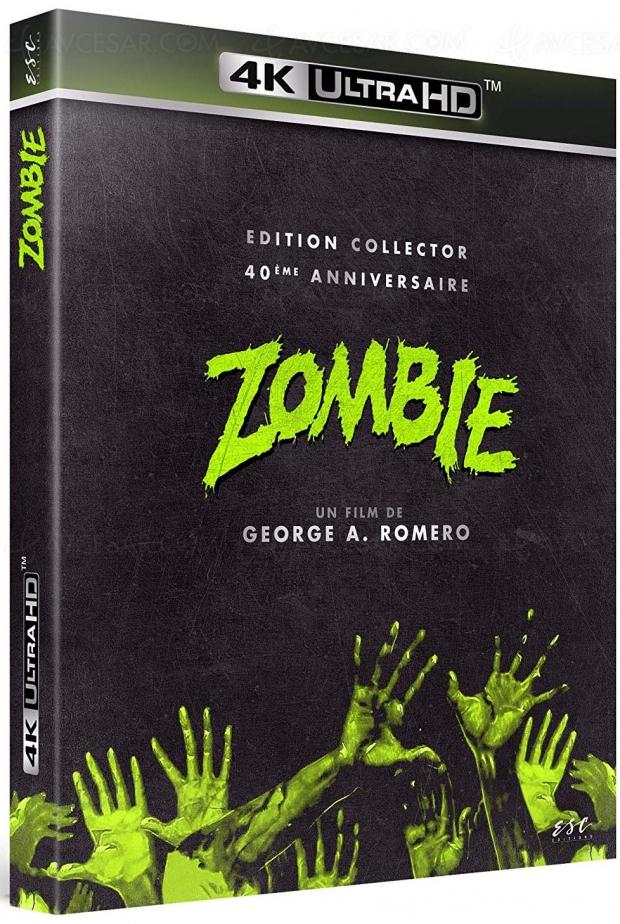 Zombie (Dawn of the Dead) de George Romero, édition 4K Ultra HD monstrueuse pour son 40e anniversaire