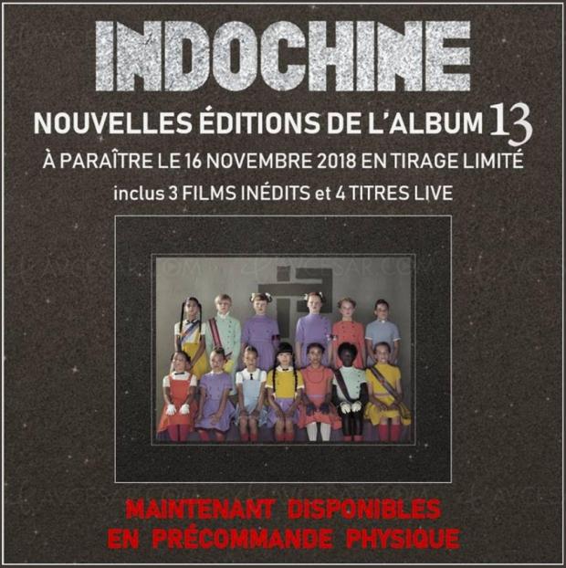 CD, DVD et crayons de couleurs : l'étonnant Collector limité de l'album 13 d'Indochine