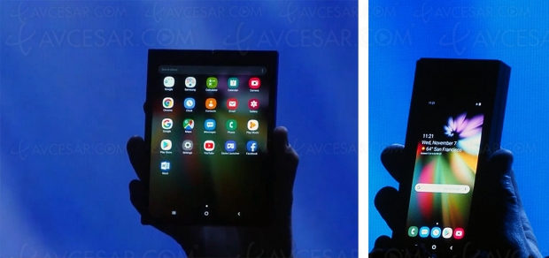 Présentation du Samsung Display Infinity Flex, le premier smartphone pliable de la marque