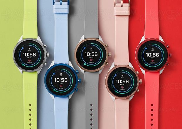 Nouvelle montre connectée Fossil Sport, de 24 heures à 72 heures d'autonomie