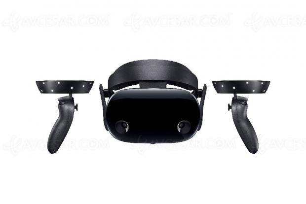 Casque réalité virtuelle Samsung HMD Odyssey+, le même en mieux !