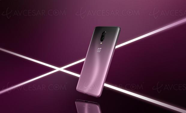 Smartphone édition limitée OnePlus 6T Thunder Purple