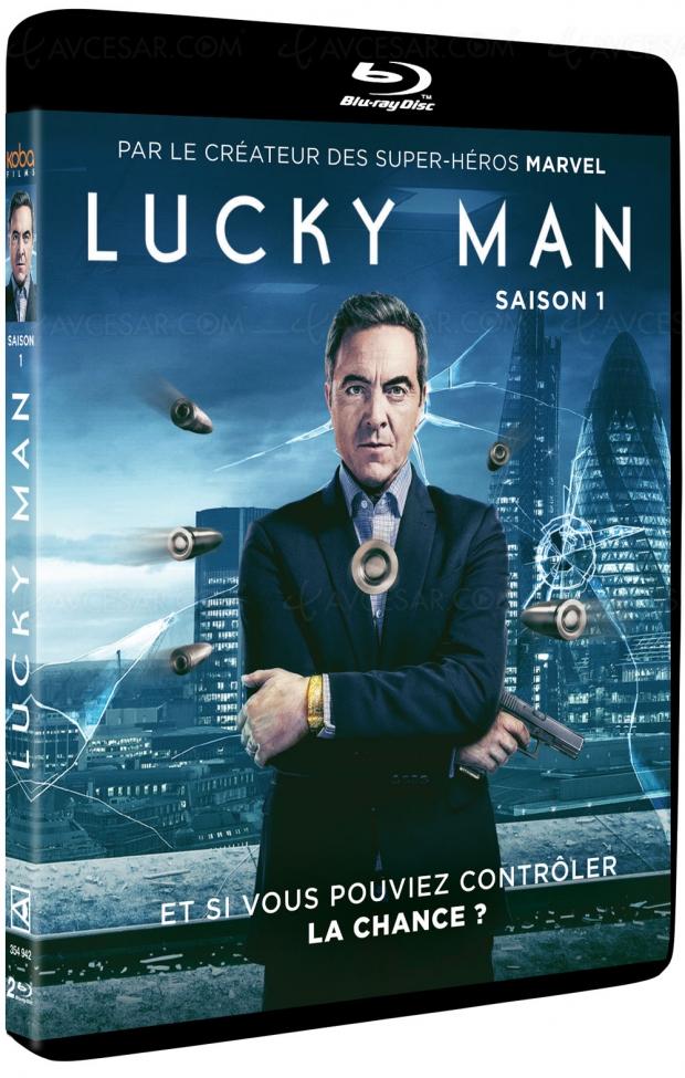 Lucky Man saison1, une série de Stan Lee (Marvel) produite enAngleterre